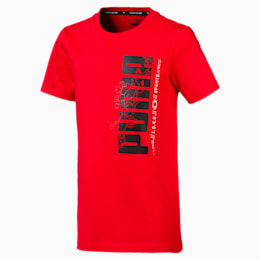 Active Sports Boys' Tee, High Risk Red, small-SEA