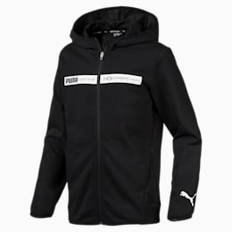 Boys' Active Sports Hooded Jacket