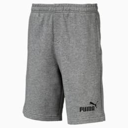 Essentials Boys' Sweat Shorts, Medium Gray Heather, small-IND
