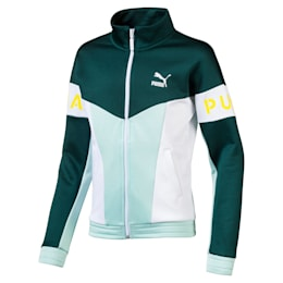 PUMA XTG 94 Girls' Track Jacket JR, Fair Aqua, small