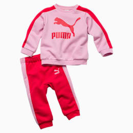 Minicats Infant + Toddler T7 Crew Jogger, Pale Pink, small