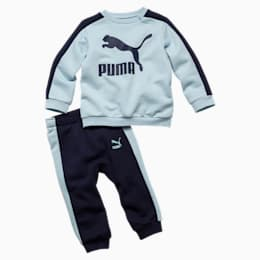 Minicats Infant + Toddler T7 Crew Jogger, Light Sky, small