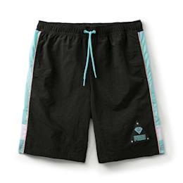 PUMA x DIAMOND SUPPLY CO. Boy's Shorts, Puma Black, small