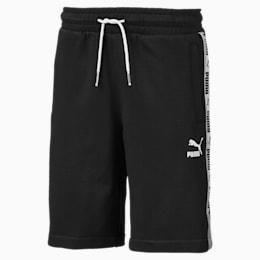 PUMA XTG Boys' Shorts JR, Cotton Black-- Puma white, small