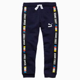 Pantalon tricoté Rue Sésame pour garçon, Peacoat, small