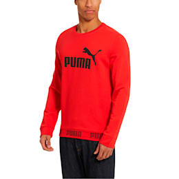 Amplified Crew Sweat, High Risk Red, small