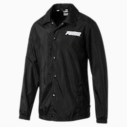 Mens' Rebel Windbreaker Jacket, Puma Black, small-SEA
