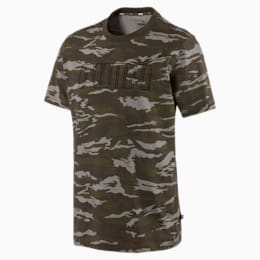Camo AOP T-Shirt, Forest Night, small