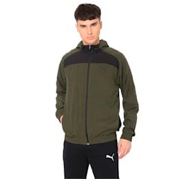 Modern Sport Hooded Suit Op. Peacoat-Pum
