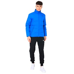 ESS PADDED JACKET Puma Black, Strong Blue, small-IND
