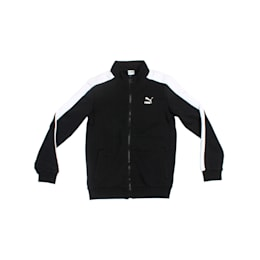 Classic T7 Track Jacket, Cotton Black, small-IND