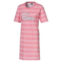 Striped Women's Tee Dress