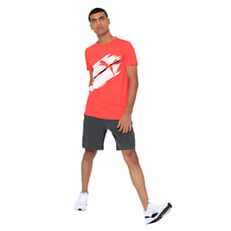 Mens Graphic Tee IV, High Risk Red, small-IND
