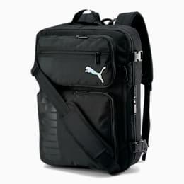 PUMA Journey Backpack/ Messenger Bag, Black, small