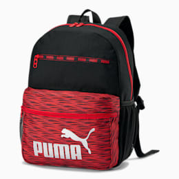 PUMA Meridian 3.0 Backpack, Red/Black, small