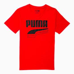 Camiseta estampada Rebel Boldpara niño JR, HIGH RISK RED, pequeño