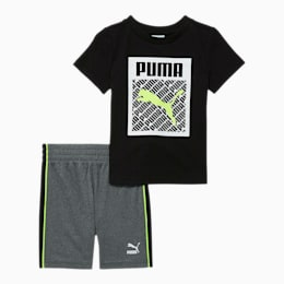 Graphic Injection Tee + Short Infant + Toddler Set