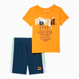 Tailored for Sport Graphic Tee + Short Infant + Toddler Set