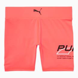 Evide Girls' High Waisted Biker Shorts JR