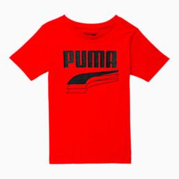 Camiseta estampada Rebel Boldpara niño pequeño, HIGH RISK RED, pequeño