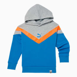 Iconic MCS Little Kids' Fleece Hoodie, PALACE BLUE, small