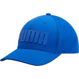 Mono Cubic Trucker Hat, Blue, small
