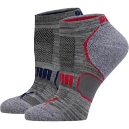Women's Low Cut Socks (6 Pack), grey-love potion-blue depths, small