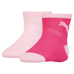Mini Cats Babies Anti-Rutsch Socken 2er Pack, raspberry, small