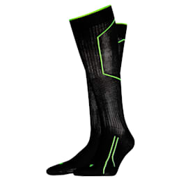 Running Cell Kniehohe Socken, black, small