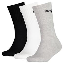 Lot de 3 paires de chaussettes de sport pour enfant