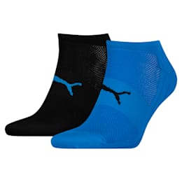 Performance Train Light Socks 2 Pack, blue / black, small