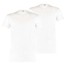 Pack de 2 t-shirts com gola redonda Basic