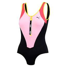 Radical Women's Bodysuit, pink combo, small
