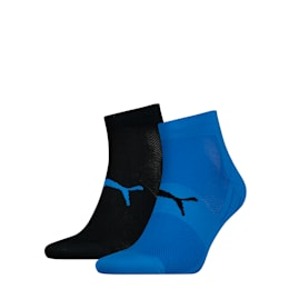 Lot de deux paires de chaussettes Performance Train Light, blue / black, small