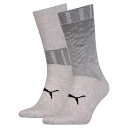 Pack de 2 pares de meias para homem