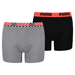 Race Blocks boxershort voor kinderen set van 2