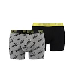 Boxers com Estampado Integral com Logótipo para Homem PUMA Big (embalagem de 2)