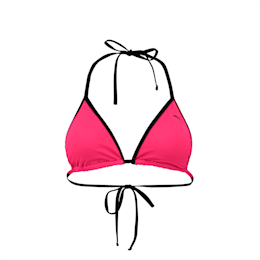 PUMA Swim Women's Triangle Bikini Top