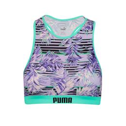 Top de bikini à motif PUMA Swim pour femme