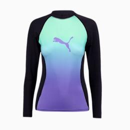 PUMA Swim Gradient Long Sleeve rashguard voor dames