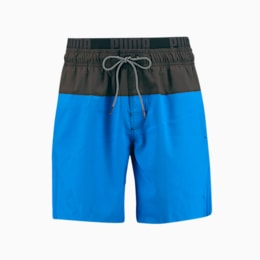 PUMA Swim 2-Colour Logo Medium Length-badeshorts til mænd