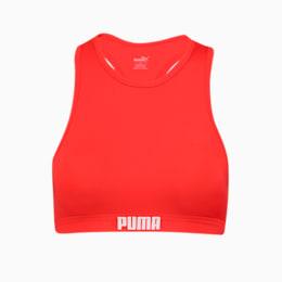 PUMA Swim Damen Racerback Bikinitop