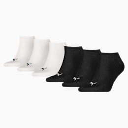 Trainer Socks 6 Pack, Assorted colours, small