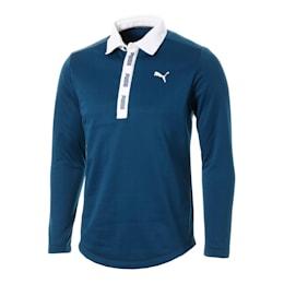 ゴルフ ウォームネック LS ポロシャツ 長袖