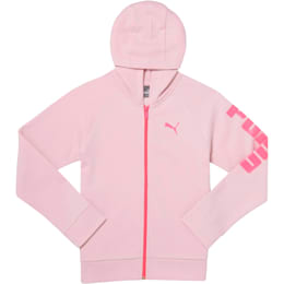 Girls' Fleece Hoodie JR, WINSOME ORCHID, small