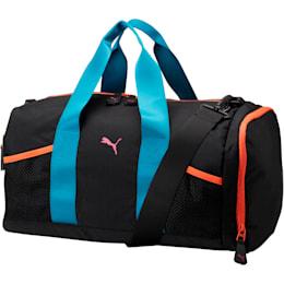 PUMA Upward Duffel Bag, Black/Multi, small