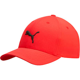Cubic FLEXFIT Cap, Red/Black, small