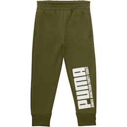 Little Kids' Terry Joggers, OLIVINE, small