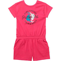 Little Kids' Surplice Back Romper