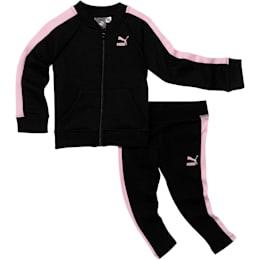 Conjunto de dos piezas para infantes y bebés, PUMA BLACK, pequeño